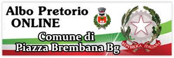Piazza Brembana (Bg) - ALBO PRETORIO.