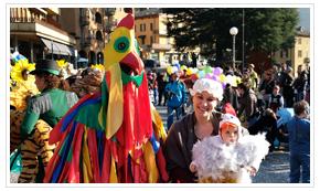 Piazza Brembana manifestazioni eventi festa di carnevale 2020.