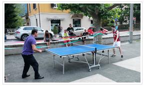 Piazza Brembana manifestazioni eventi torneo ping pong 2020