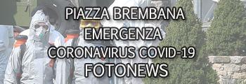 Piazza Brembana emergenza Coronavirus Covid-19 fotonews.
