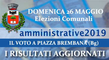 Piazza Brembana Elezioni Amministrative 2019